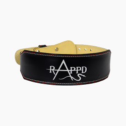 Rappd Leather Weight Lifting Belt 4 Inch