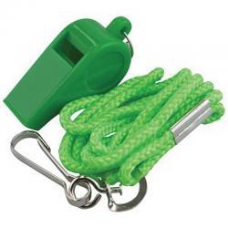 Madison Plastic Whistle with lanyard