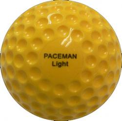 Paceman Light Cricket Bowling Machine Balls (12 Pack)
