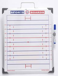 Whiteboards Rugby League Magnetic Sports Board