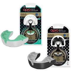 Opro Gold Gen 2 Mouthguard [Colour: White/Green]