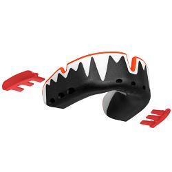 Opro Platinum Fangz Mouthguard [Colour: Black/Red]