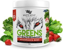White Wolf Nutrition Greens Gut Health and Immunity