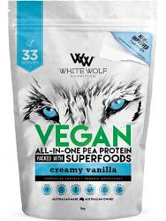White Wolf Nutrition Vegan All-In-One Pea Protein