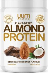 Yum Natural Plant Based Almond Protein