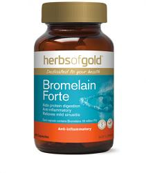 Herbs of Gold Bromelain Forte