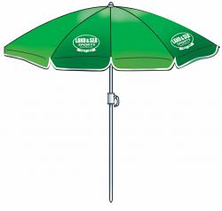 L&S Holiday Beach Umbrella 1.8m