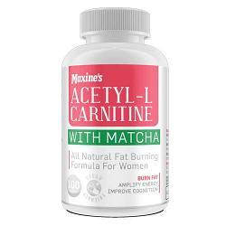 Maxines Acetyl-L-Carnitine + Matcha