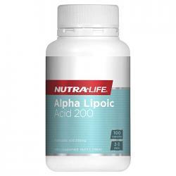 Nutra-Life Alpha Lipoic Acid 200