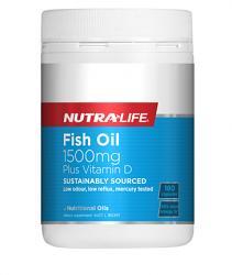 Nutra-Life Fish Oil 1500mg plus Vitamin D