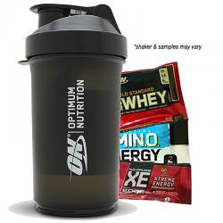 Shaker and Product Samples